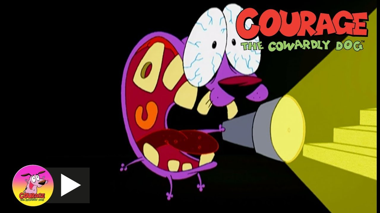 Courage The Cowardly Dog   Scary Shadows   Cartoon Network ...  Courage The Cow...