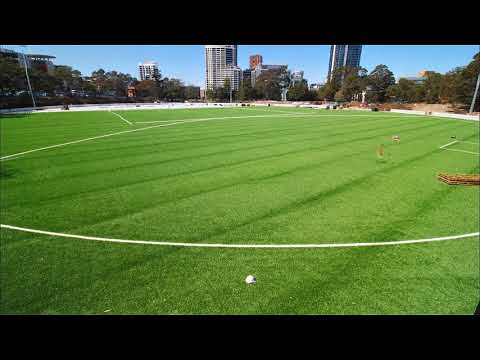 Willoughby City Council opens synthetic turf oval at Gore