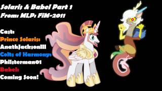 Return to Harmony: Princess Celestia and Discord (Colt Version)