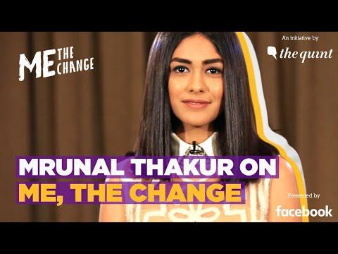 Mrunal Thakur on 'Me, The Change': Nominate a Woman Achiever