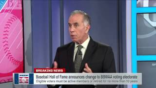 Voting change for Baseball Hall of Fame