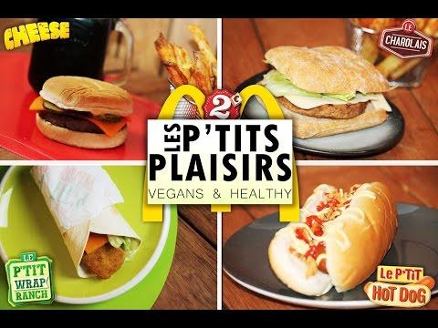 LES P'TITS PLAISIRS de McDonald's   RECETTES VEGANES & HEALTHY
