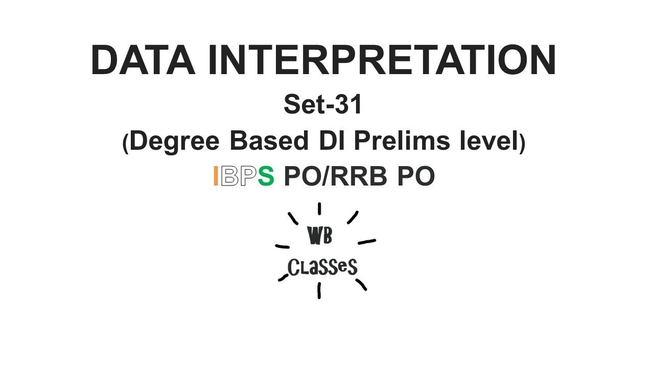 Data interpretation set 31 degree based pie chart prelims data interpretation set 31 degree based pie chart prelims level ibps porrb po geenschuldenfo Image collections