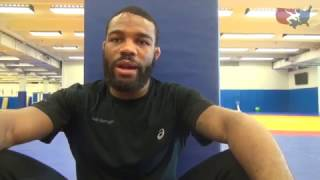 Jordan Burroughs is back and ready to wrestle