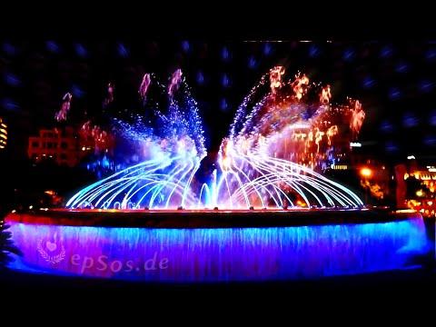 Dancing Water Fountain in Barcelona