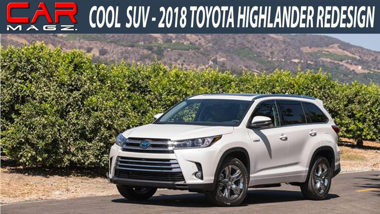 2018 toyota highlander hybrid review colors and release date youtube. Black Bedroom Furniture Sets. Home Design Ideas