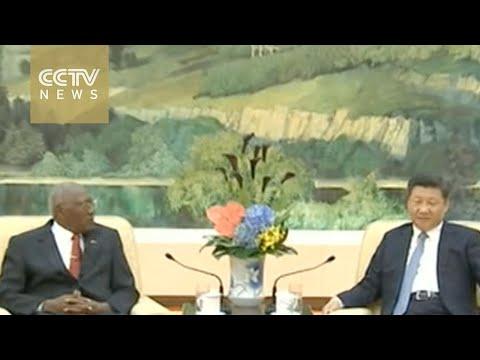 President Xi meets Cuban envoy in Beijing
