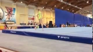 Комнова Ирина Первенство России по спортивной гимнастике г. Пенза 3-8 апреля 2017 года