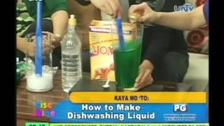 How to make dishwashing liquid [ENG SUB]