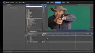 Using chroma key for high quality green screen compositing