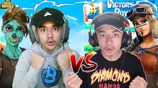 *INSANE* Playground 1v1 Against Twin Brother in Fortnite!