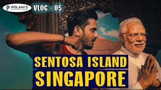 SENTOSA ISLAND SINGAPORE | VLOG 05 | POLANI TRAVELS | Karachi Vynz Official