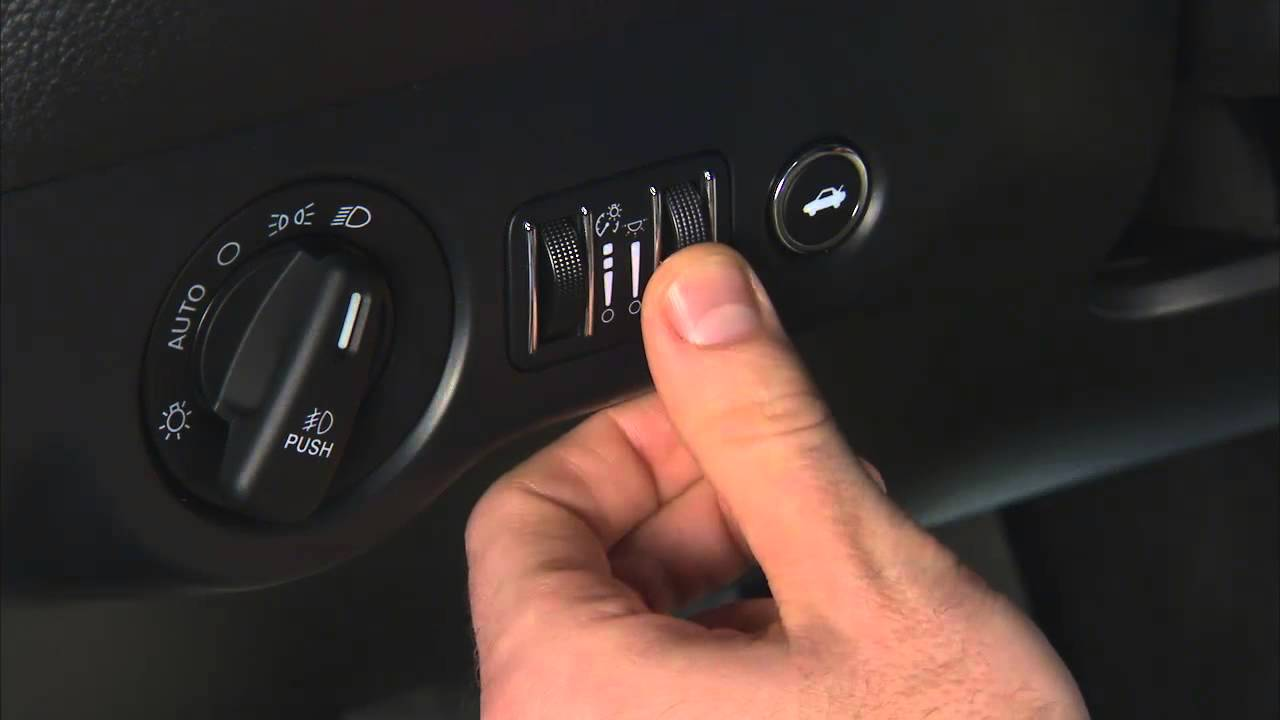 2015 Dodge Challenger | Automatic Headlights Switch with Fog Lights