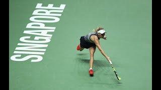 2017 WTA Finals Semifinals   Caroline Wozniacki vs Karolina Pliskova   WTA Highlights