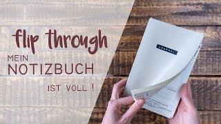 Bullet Journal Flip Through | mein Notizbuch 2016 - 2019