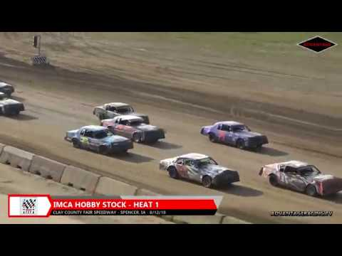 Hobby Stock/Sport Modified Heats - Clay County Speedway - 8/12/18