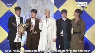 [ENGSUB] SECHS KIES receives Bonsang @ 2017 Seoul Music Awards