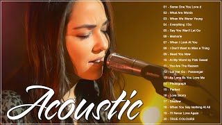 Most Popular English Acoustic Love Songs Cover 2021 - Best Ballad Guitar Acoustic Cover Songs Ever