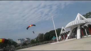 Terjun Payung TMMD ke 99 di Tanjungbalai