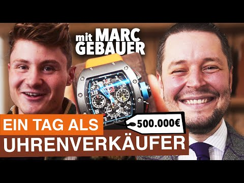 Ein Tag als Luxus-Uhrenverkäufer (mit Marc Gebauer) - Felix von der Laden