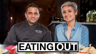 EATING OUT! - Learn how to make Hakka chilli paneer at