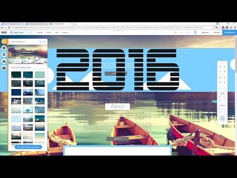 Kostenlose Website Erstellen 2016 - Professionelle Eigene Website Bauen