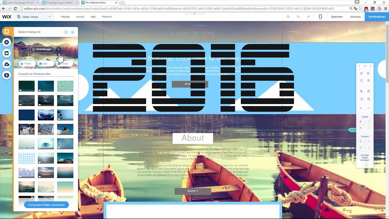 Wie Erstelle Ich Meine Eigene Website kostenlose website erstellen 2016 professionelle eigene website