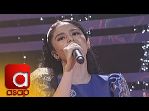 ASAP: Jayda sings her mom Jessa Zaragoza's hit song 'Recuerdo de Amor'