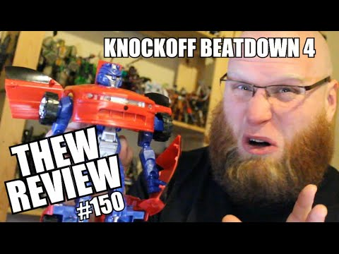 Knockoff Beatdown IV: Thew's Awesome Transformers Reviews #150