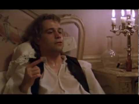 Amadeus - Mozart sul letto di morte detta a Salieri il Confutatis del Requiem