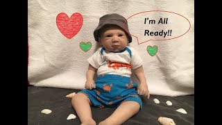 Changing Reborn Baby Doll Into New Summer Outfit!