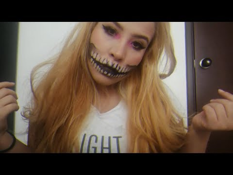 GLAM SKULL MAKEUP TUTORIAL thumbnail