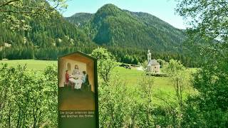 Wandern Südtirol: Gsiesertal, Talblickweg nach St. Magdalena