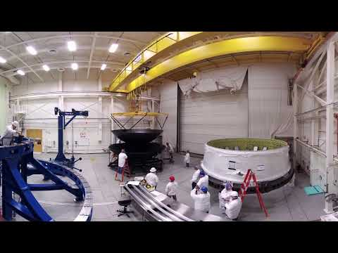 NASA Hardware Flips for the First SLS Flight