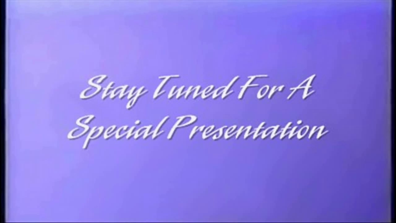 Stay Tuned For A Special Presentation After The Movie ...