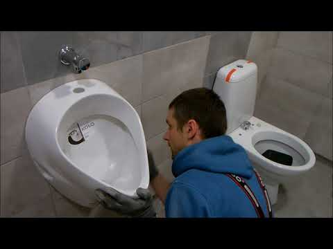 Urinal Installation In Home
