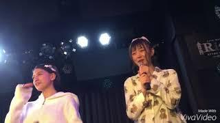 2017/12/17 女子限定ライブ 昼の部 サイン&メッセージ入りの風船が用意...