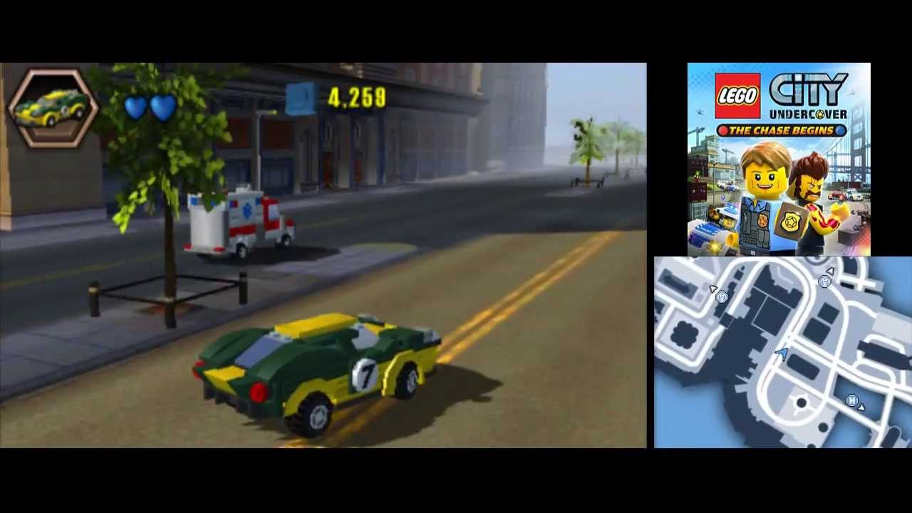 Lego City Undercover 3ds The Chase Begins All Vehicles In Action Youtube