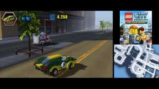 LEGO City Undercover (3DS) The Chase Begins - All Vehicles in Action