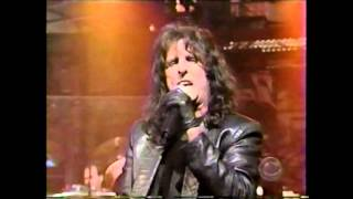 Alice Cooper on David Letterman No More Mr. Nice Guy