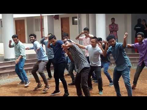 Pondicherry central university flashmob(2017).... Karaikal campus