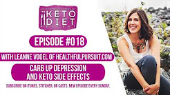 #018 The Keto Diet Podcast: Keto Prime, Depression + Carb Ups, and Keto Side Effects Description