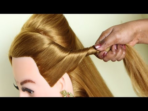 wedding-guest-hairstyles-for-long-hair-  -bridal-hairstyle-tutorial-  -hairstyles- -hair-style-girl