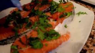 Правильное питание: Красная рыба (малосольное приготовление)  Готовит Светлана Маркова.