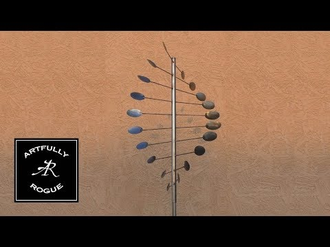 How To Build A Wind Sculpture (Secret to Spin Revealed)