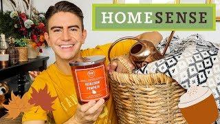 HUGE HOMESENSE & UK AUTUMN HOMEWARE HAUL | HOME DECOR 2019 | MR CARRINGTON