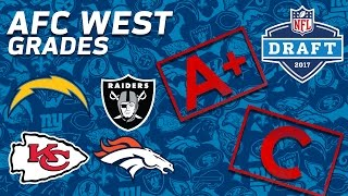 Broncos, Chiefs, Chargers, & Raiders | AFC West 2017 NFL Draft Grades | NFL NOW