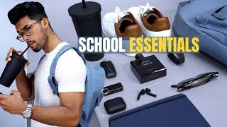 8 Back To School Essentials EVERY Student Needs