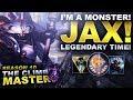I'M A JAX MONSTER! - Climb to Master Season 10 | League of Legends
