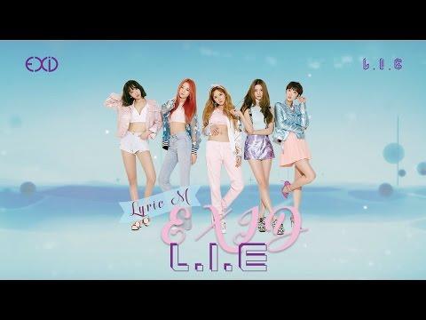 [Lyric M] EXID - L.I.E, 이엑스아이디 - 엘라이